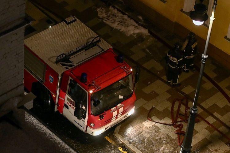 В результате пожара в доме престарелых в Москве погибли 4 человека - ОБНОВЛЕНО
