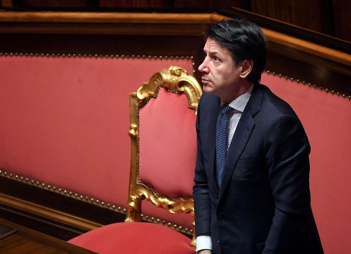 Italy may relax some anti-coronavirus measures by end of April, says PM Conte