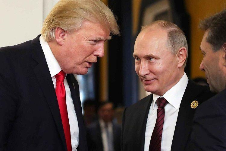 Состоялся телефонный разговор между президентами США и России