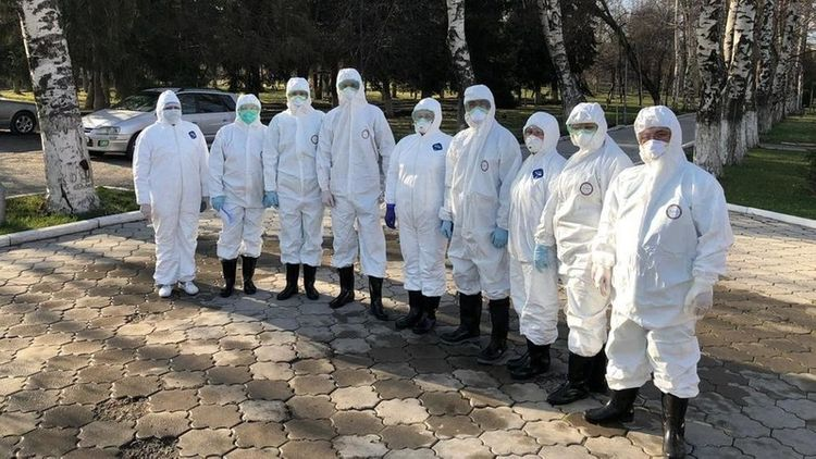 12 more health workers in Kyrgyzstan tested positive for coronavirus