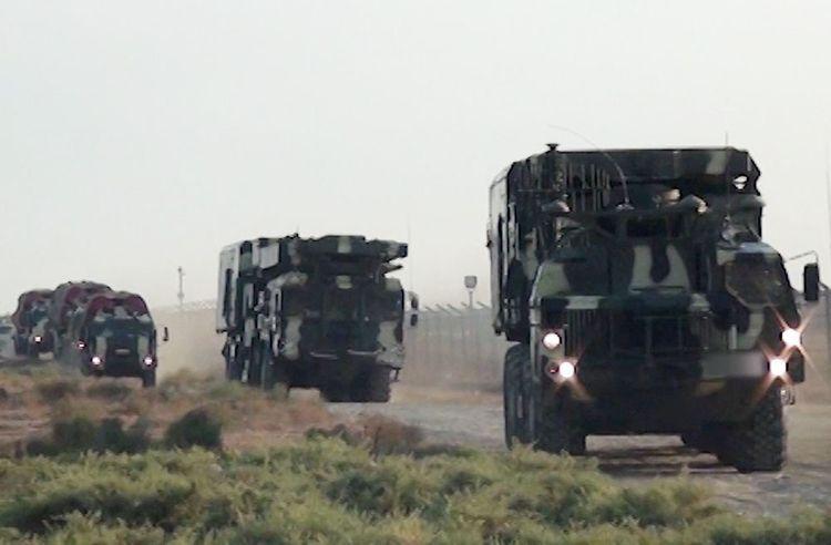 Подразделения ПВО приступили к тренировкам - ВИДЕО