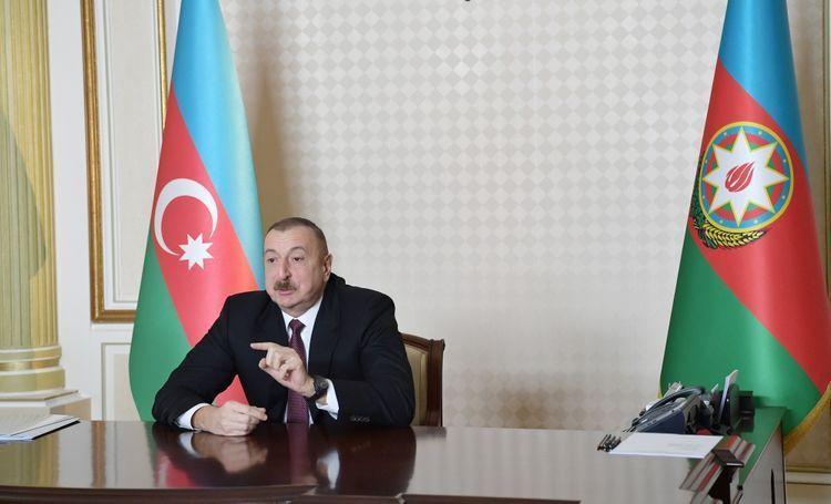 Президент Азербайджана: В результате превентивных мер и продуманной политики мы сохраняем ситуацию под контролем