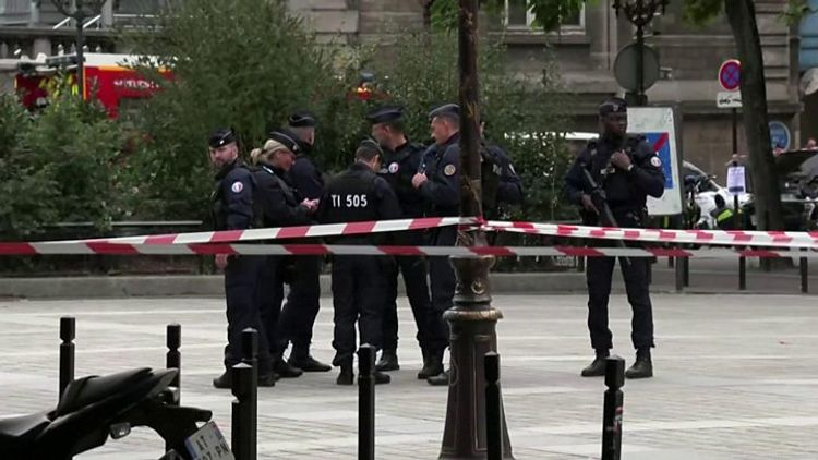 French police shoot dead a knife attacker in north of Paris: