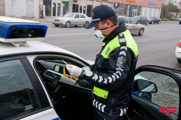 Baku police brings 22 859 traffic participants to administrative responsibility over violation of special quarantine regime