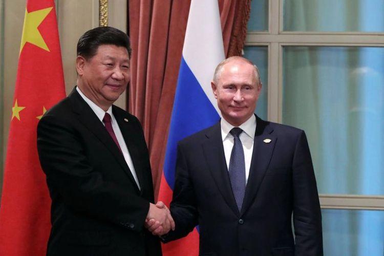 Xi Jinping, Vladimir Putin hold telephone conversation