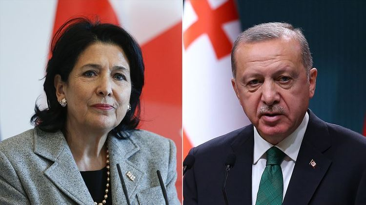 Turkish, Georgian leaders talk efforts against virus