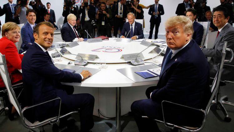G7 leaders discuss measures to fight coronavirus