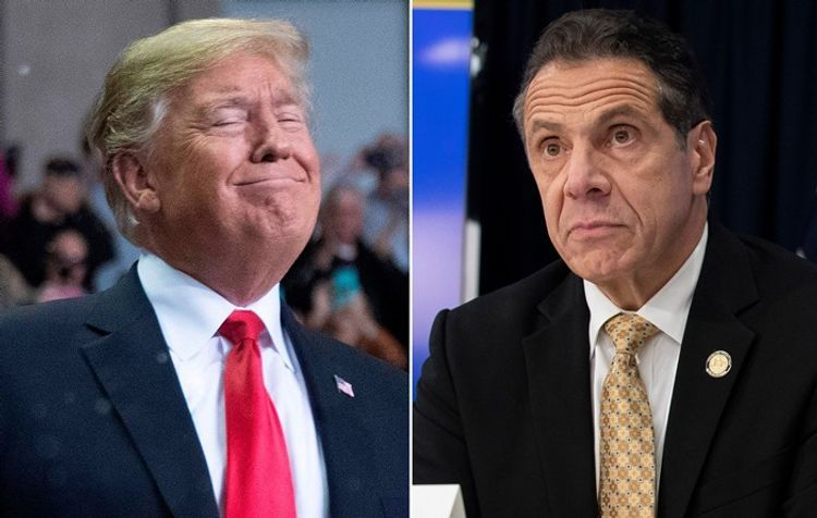 NY Governor and President Trump clash after Cuomo demanded president provide funding necessary for state
