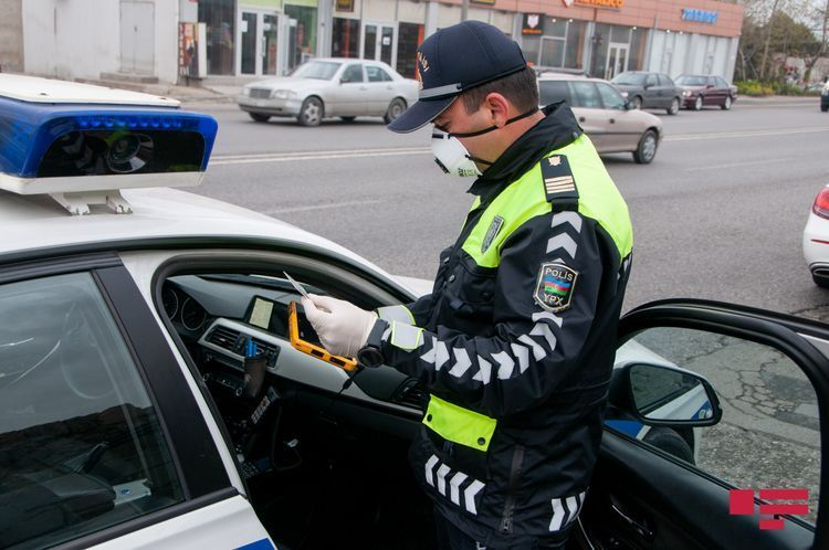 Baku police brings 27587 traffic participants to administrative responsibility over violation of special quarantine regime