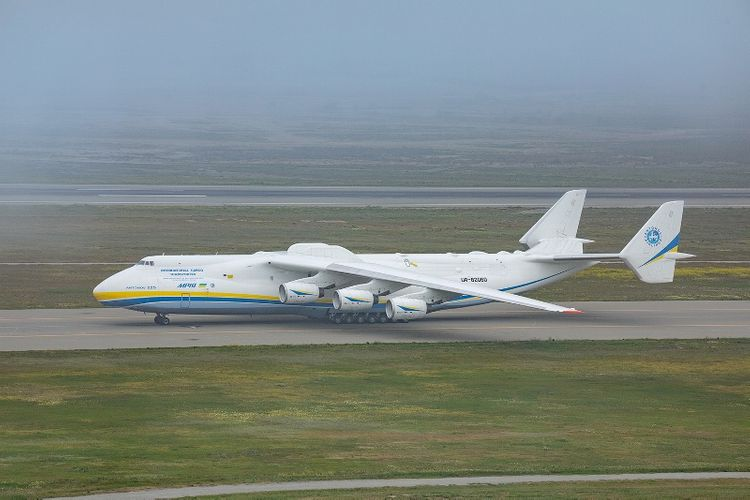 Largest Aircraft in the world lands in Baku - PHOTO - VIDEO