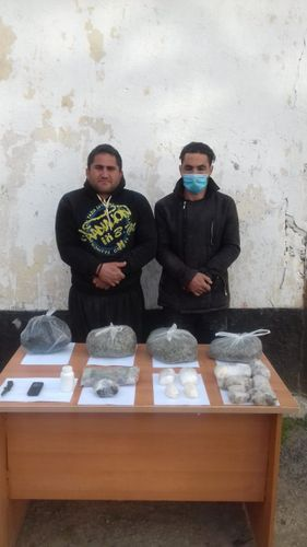 People trying to bring into country weapons and drugs caught - <span class='red_color'>OFFICIAL</span>