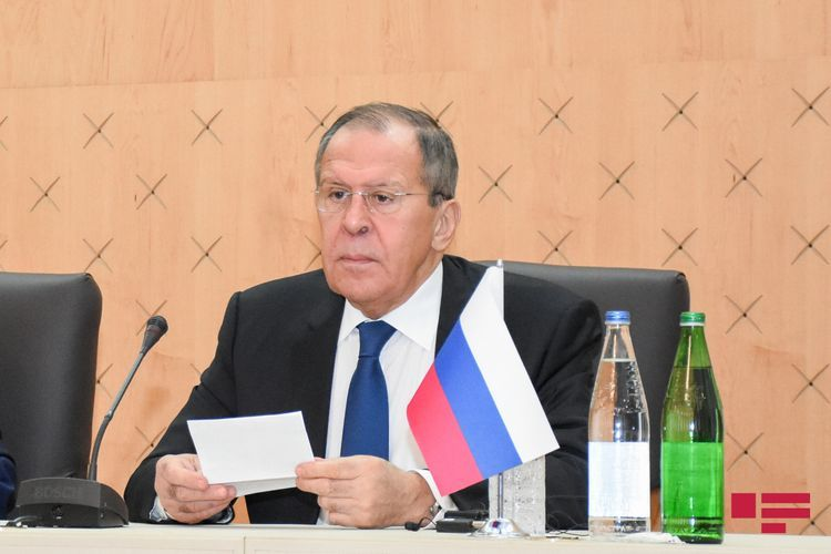 """Lavrov: """"Phased solution of conflict reflected in documents related to Garabagh issue that are actively discussed now"""""""