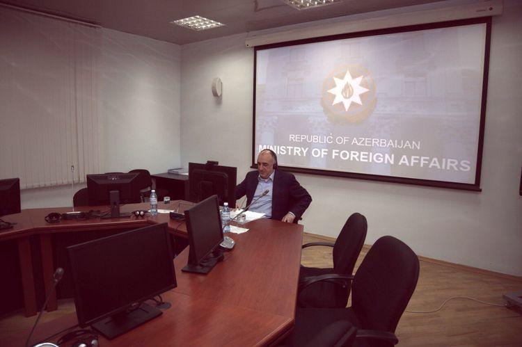 Meeting held between Azerbaijani and Armenian FMs via videoconference - UPDATED