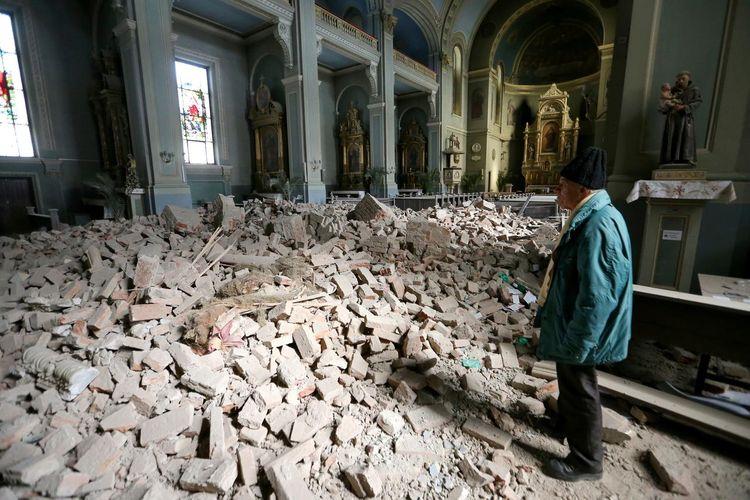 "Minister: ""Zagreb earthquake caused $6 billion of damage"""