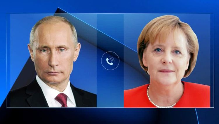 Putin, Merkel talk situation on oil market, measures to fight COVID-19