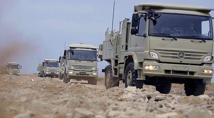 Azerbaijani MoD: Mortar batteries perform combat firing - <span class='red_color'>VIDEO</span>