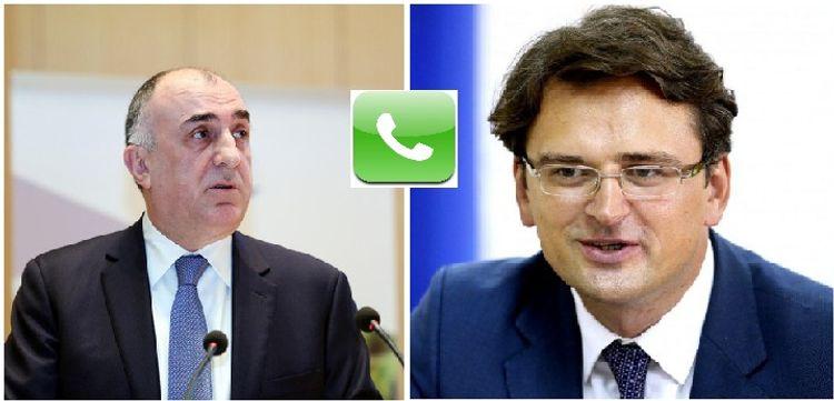 Azerbaijani FM invites his Ukrainian counterpart to Baku