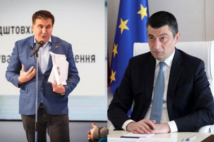 Georgian PM threatens to withdraw ambassador from Ukraine if Saakashvili becomes Vice PM