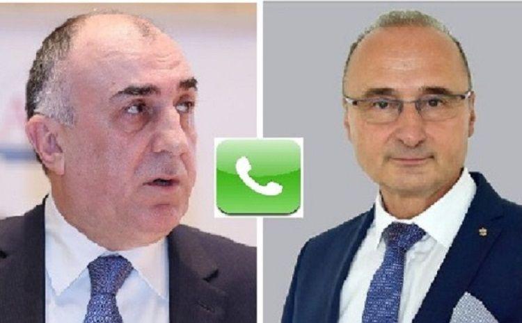 Elmar Məmmədyarovla Xorvatiyanın Xarici İşlər naziri arasında telefon danışığı olub