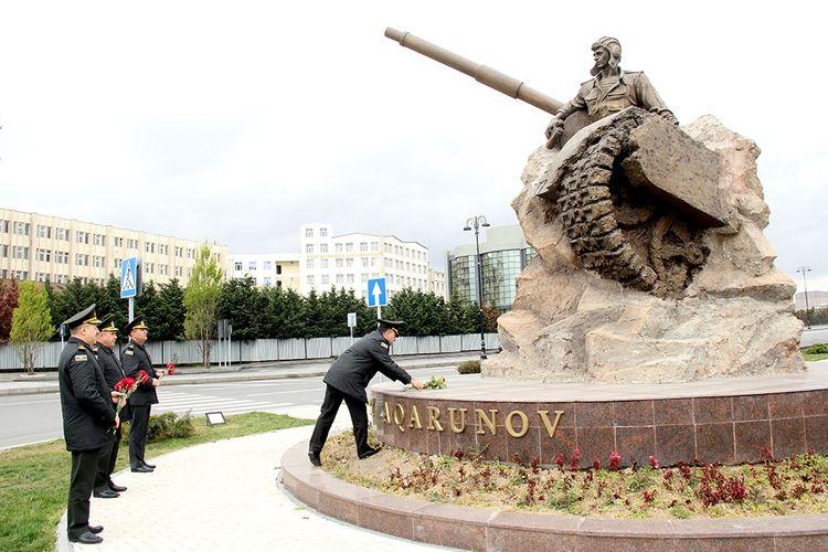 Azerbaijani MoD: Azerbaijan National Hero Albert Agarunov