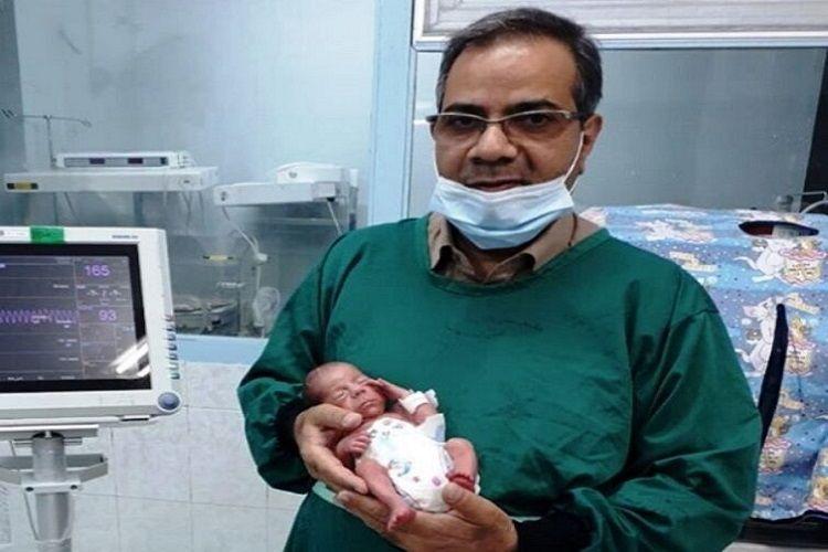 İranda 800 qram çəki ilə doğulan körpə koronavirusdan xilas olub