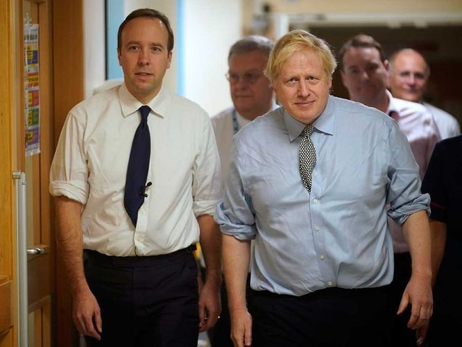 British PM Johnson will be back at work on Monday