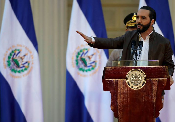 El Salvador authorizes use of lethal force against gangs