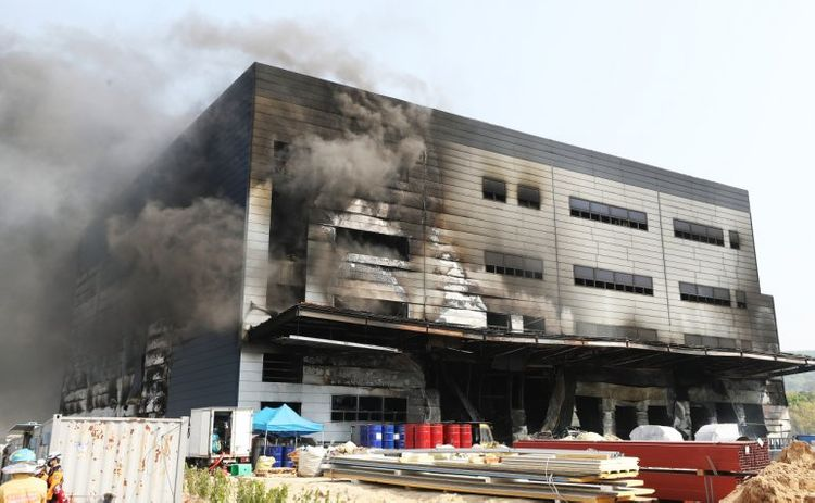 Construction site fire in South Korea kills at least 25