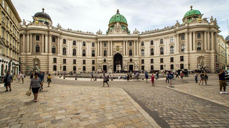 Palace housing Austrian president