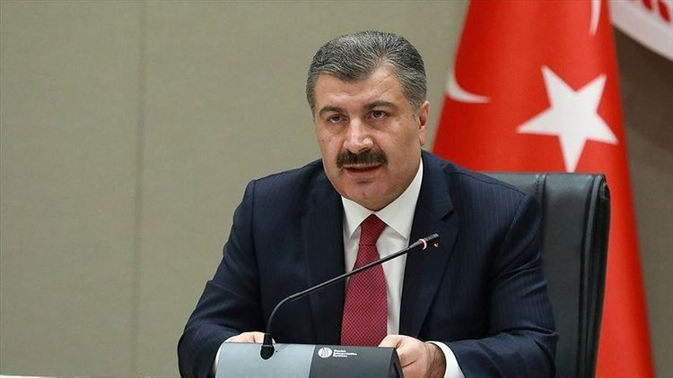 Minister: Turkey currently passing over peak of pandemic