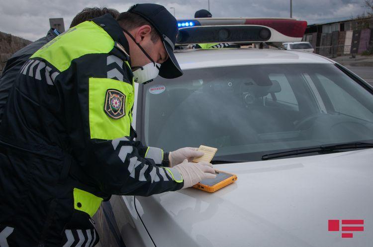 Baku police brings 44 016  traffic participants to administrative responsibility over violation of special quarantine regime