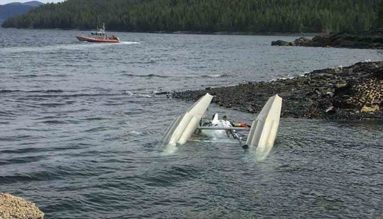 Seven killed, including state lawmaker, as two planes collide in Alaska