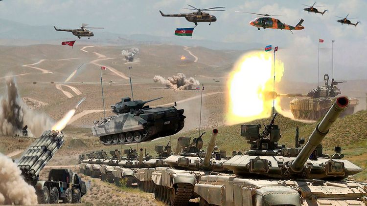 Azerbaijani-Turkish Joint Large-Scale Exercises are being held in Nakhchivan - VIDEO