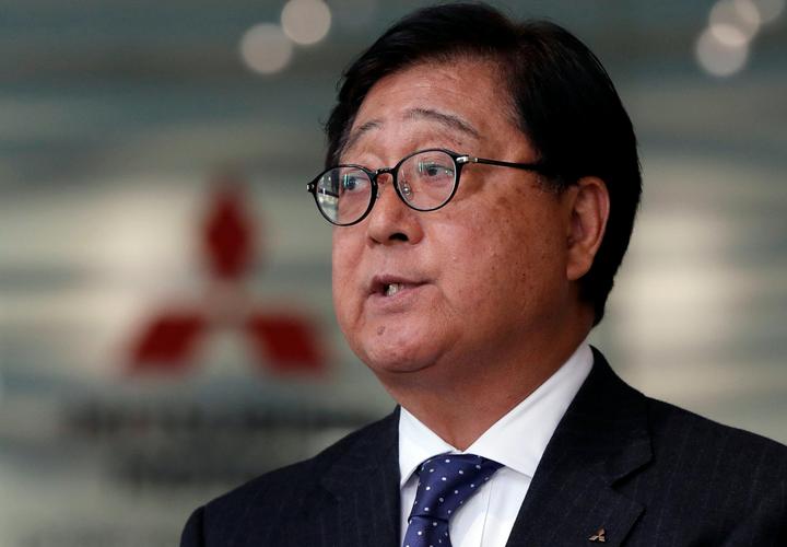 Mitsubishi Motors says Chairman Masuko resigns due to health reasons