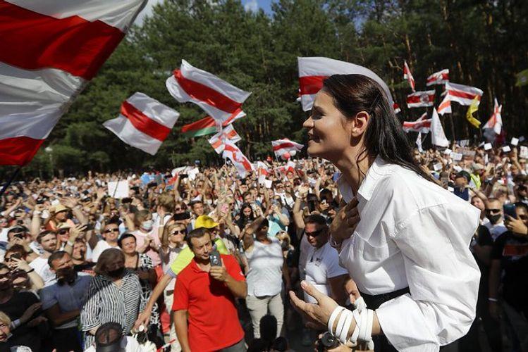 "Belarusian opposition leader Tikhanovskaya is ""safe"" in Lithuania, Foreign Minister says"