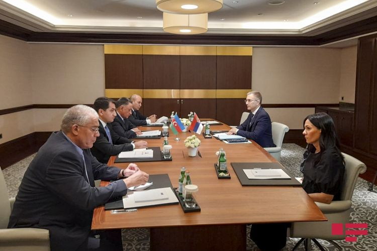 Meeting held with Secretary of Serbian National Security Council in Baku - UPDATED