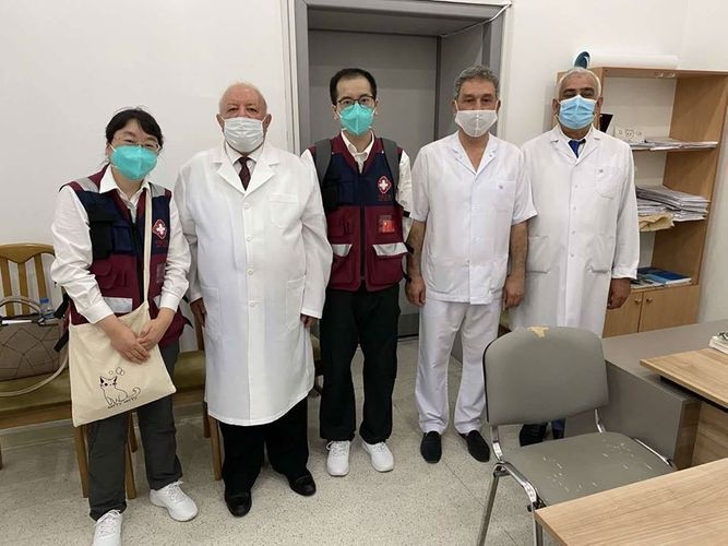 Chinese medical experts get acquainted with preparation to autumn-winter season in Azerbaijan