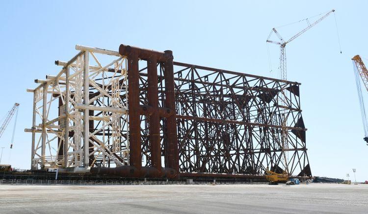 Design of topside module of Garabagh field being prepared