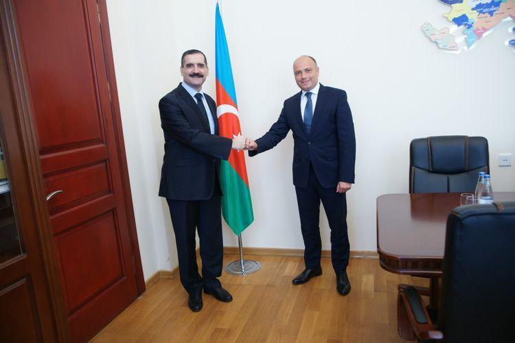 Anar Karimov meets with Turkish Ambassador to Azerbaijan