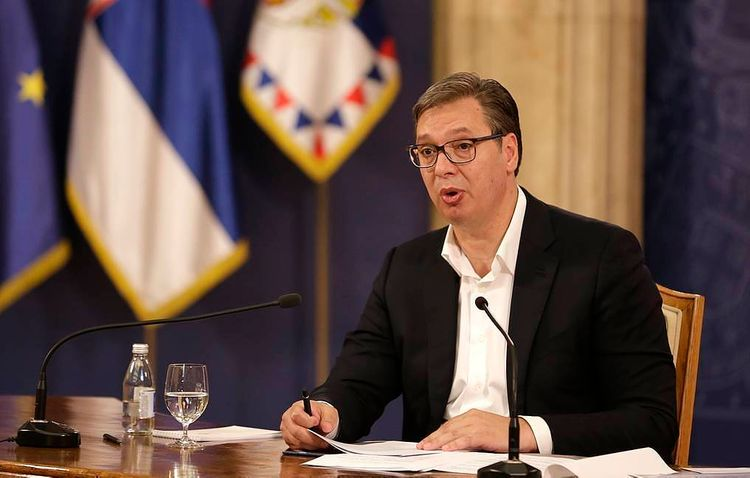 Serbian leader Vucic says ready to be first to take Russian coronavirus vaccine