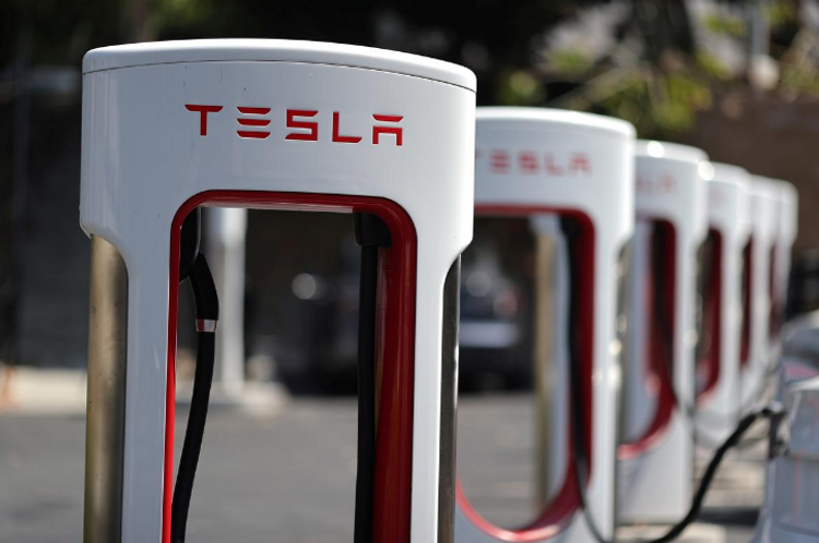 Tesla launches five-for-one stock split