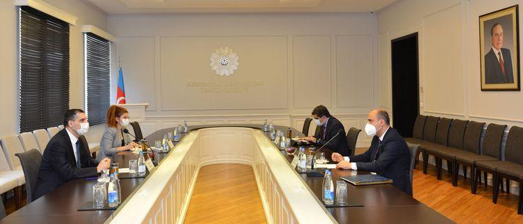 Министр образования встретился с послом Турции