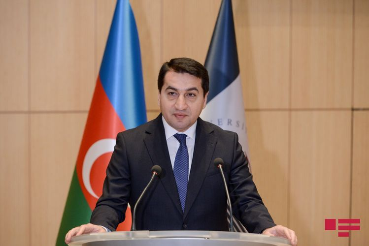 """Hikmat Hajiyev: """"Armenia's rant about democracy and human rights is ridiculous"""""""