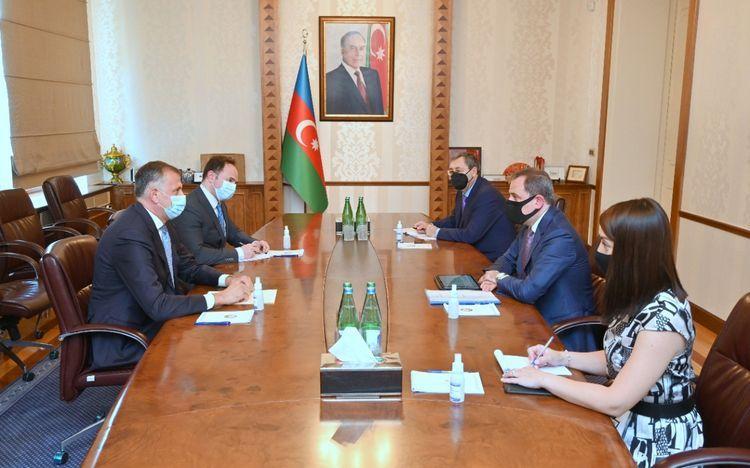 Глава МИД Азербайджана принял посла Грузии