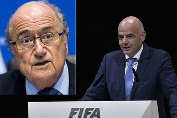 """Zepp Blatter: """"İnfantino özünü toxunulmaz hesab edir"""""""