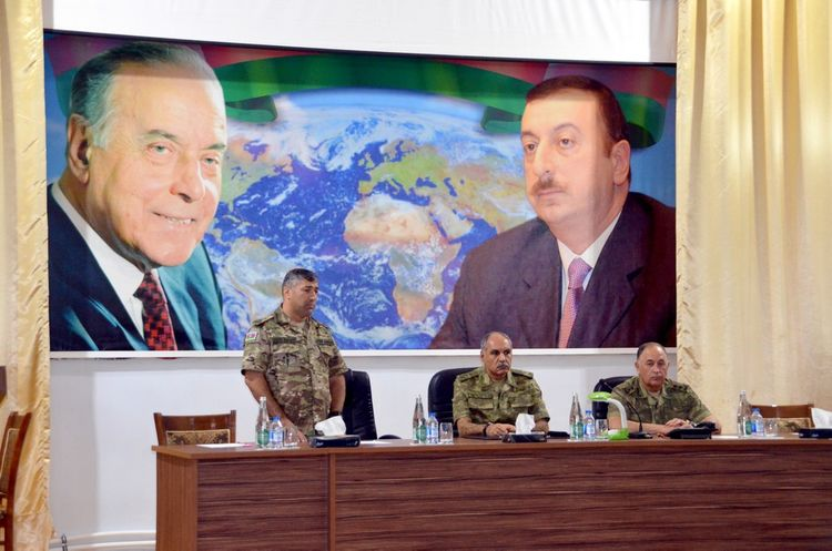 Azerbaijani Ministry of Defense and the Military Prosecutor's Office hold joint meetings in military units in frontline zone