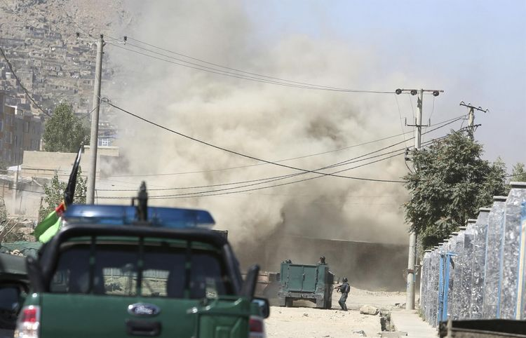 Multiple rockets reportedly hit near main diplomatic district in Kabul, Afghanistan