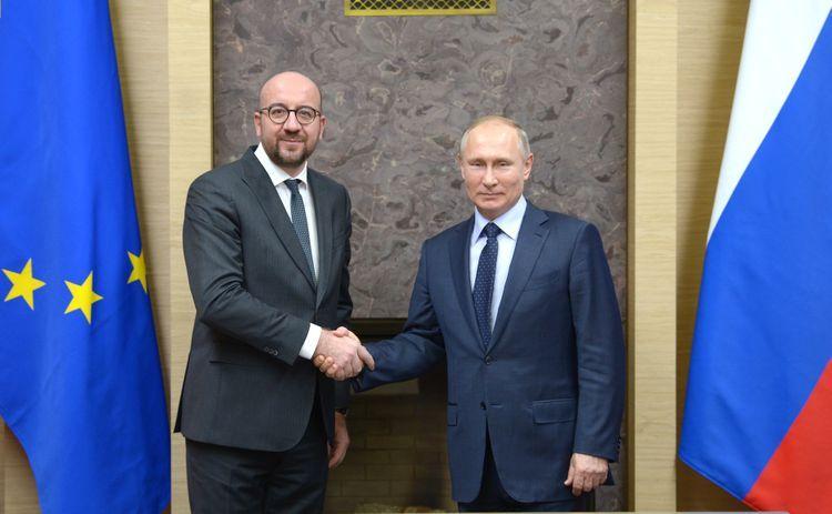 Charles Michel and Vladimir Putin discuss situation in Belarus