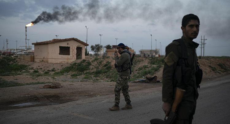 Three rockets strike US base in Syria