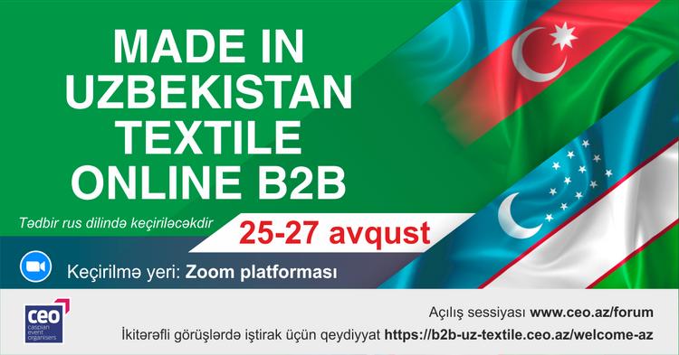 Özbəkistan-Azərbaycan onlayn biznes forumu keçiriləcək